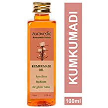 Auravedic Pure Saffron Kumkumadi Oil, 100ml