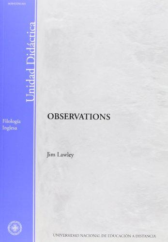 Observations (UNIDAD DIDÁCTICA)