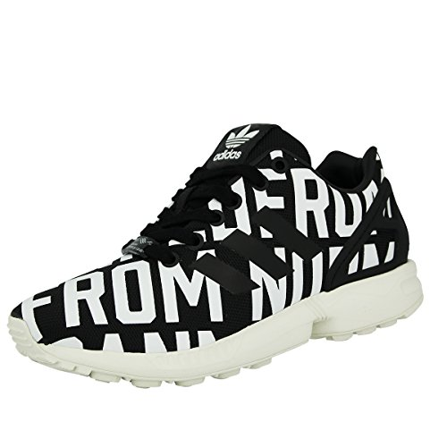 374d187cdfacf adidas Women's Rita Ora Zx Flux Low-Top Sneakers, Black Schwarz 3.5 UK