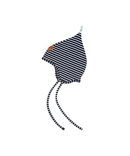 FINKID Jersey Zipfelmütze POPILI Gr. 50 Navy Offwhite (U15815)