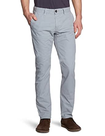 TOM TAILOR Herren Hose 64008236210/casual chino, Gr. 28/32 (28), Grau (2044 light grey)