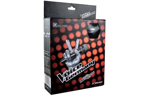 Voice of Germany Mikrofon 2-er Set