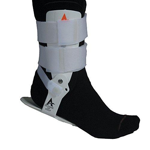 Cramer Active Ankle T1festen Knöchelbandage, für verletzte Ankle Schutz und Verstauchung Unterstützung, 277503, weiß, M -