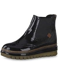 Tamaris Damen Stiefeletten 25448-23, Frauen Chelsea Boots