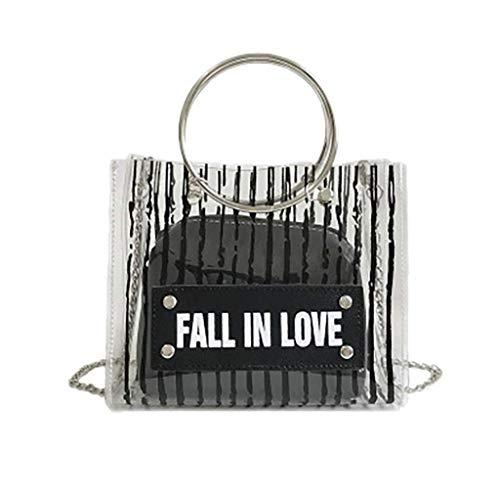 Bobopai Fashion Women Wild Messenger Bag Snake Pattern Atmospheric Handbag Shoulder Bag (Black) -