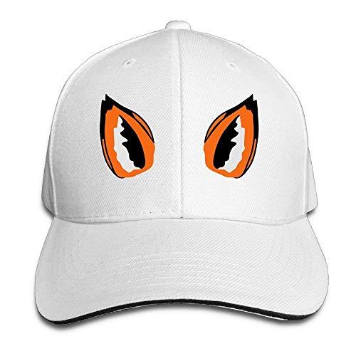 Preisvergleich Produktbild NDJHEH Hüte, Kappen Mützen Sandwich Baseball Caps Unisex Adjustable Trucker Style Hats Fox Ears