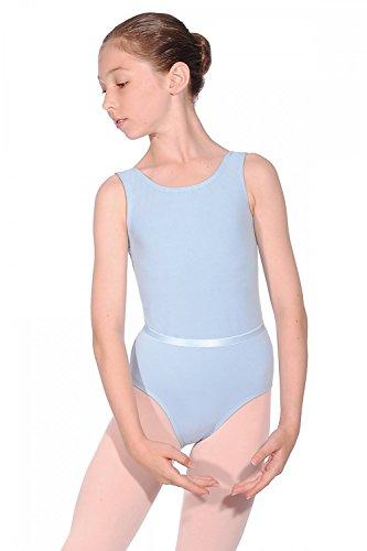 Roch Valley CJune ärmelloses Ballett Trikot aus Baumwolle Hellblau 2 (134-140cm) -
