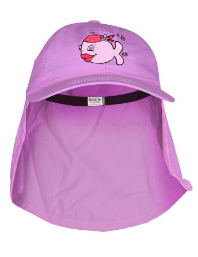 IQ-Company Kinder Cap IQ UV 200 Kids und Neck Candyfish, Violet, One size, 328326_2337_Stk.