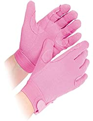 Newbury Guantes, mujer hombre unisex, color Rosa - rose, tamaño large