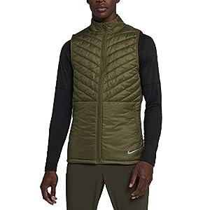 Nike M NK AROLYR Vest Weste für Herren, Mehrfarbig, Olive Canvas/Olive Canvas/Neutral Olive