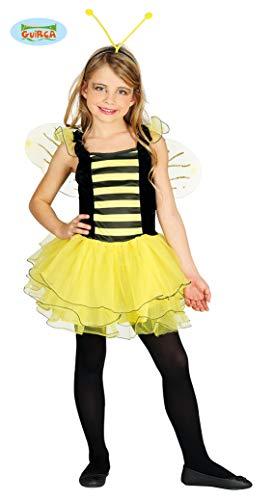 Biene - Kostüm für Mädchen Gr. 110 - 146, Größe:128/134