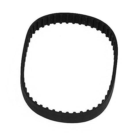 CNBTR Black Rubber 110XL Belt Stepper Motor Timing Belt Geared 10mm Wide 55 Teeth for Industry