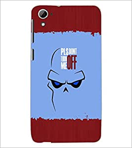 Printdhaba Quote D-2621 Back Case Cover For Htc Desire 826