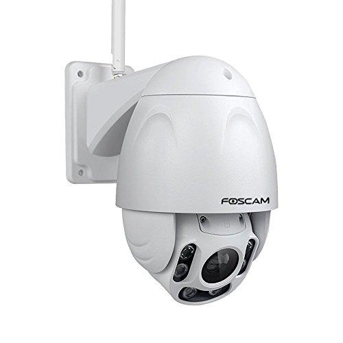 Galleria fotografica Foscam FI9928P Telecamera Motorizzata Wi-Fi, 12 V, Bianco