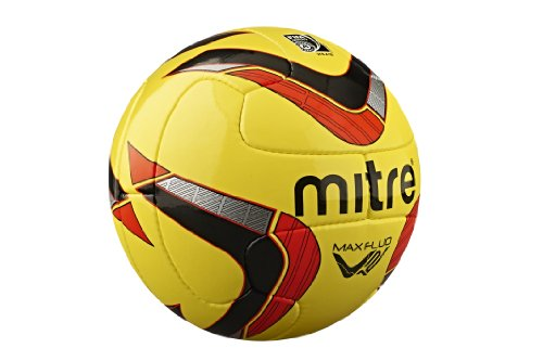 mitre-max-fluo-professional-match-football-yellow-black-red-fifa-app-size-5