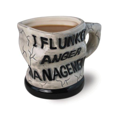BigMouth Inc Keramik Anger Management Tasse Grün