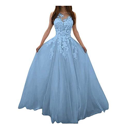 e Tüll Abendkleid Lang Ballkleid Hochzeit Brautjungfernkleid Elegant Cocktailkleid Multi-Way Maxikleid Lang Chiffon Party Kleid Prinzessin Tüllrock S-XXXXXL ()