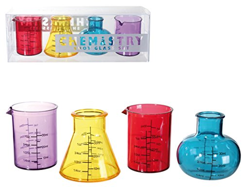 Schnapsgläser Chemistry 4er Set 50 ml