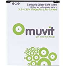 Muvit MUBAT0025 - Batería de litio para Samsung Galaxy Core i8260, 1700 mAh