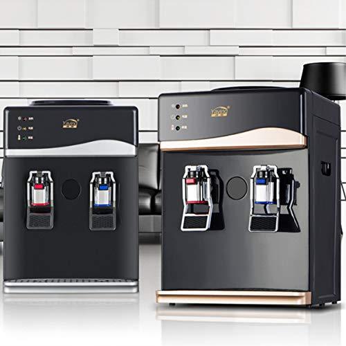 Bureze - Enfriador de Mesa de 220 V para el hogar, dispensador de Agua Caliente y fría