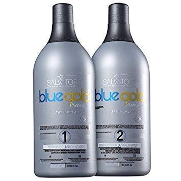 LISSAGE SALVATORE BLUE GOLD PREMIUM 500 ML