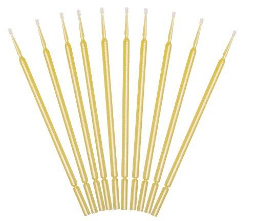 Preisvergleich Produktbild 10 Lacktupfer gelb zum ausbessern kleinster Autolack Schäden oder zur Verwendung im Modellbau