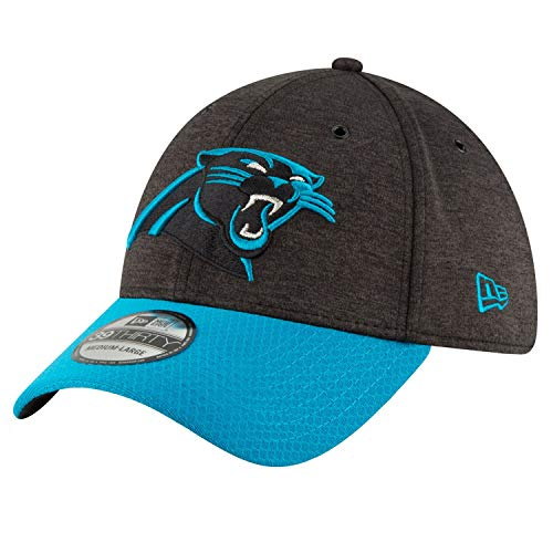 Panthers Authentic 2018 Sideline 39THIRTY Stretch Fit Home Cap, Größe :M/L ()