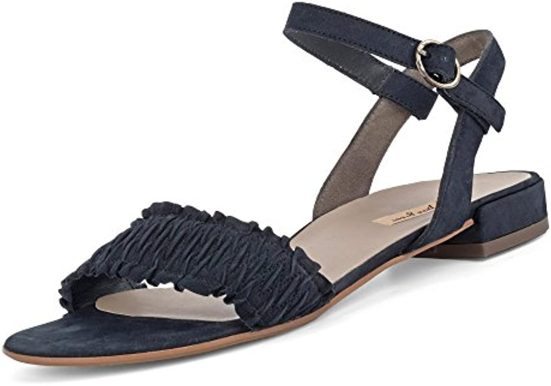 Paul Green 7091-012 Damen Sandale Elegante Laufsohle mit Dezentem Absatz