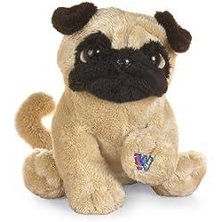 "Ganz Lil'Kinz Pug Plush, 6.5"" [Toy]"