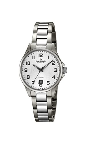 Candino Womens Analogue Classic Quartz Watch with Titanium Strap C4608/1