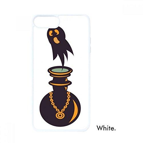 DIYthinker Halloween Spooky Ghosts Hallowmas Weiß phonecase Apple-Abdeckungs-Fall-Geschenk