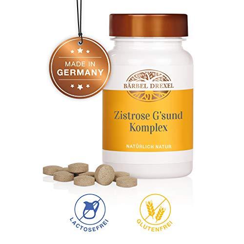 BÄRBEL DREXEL Zistrose Kapseln Cistus Incanus Zistrose Tabletten Zistrose Komplex Kapseln (150 Stk) 100% Vegane Herstellung Deutschland Immunsystem Stärken -