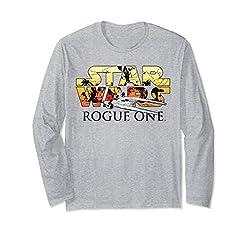 Star Wars Rogue One U-Wing Logo Langarmshirt