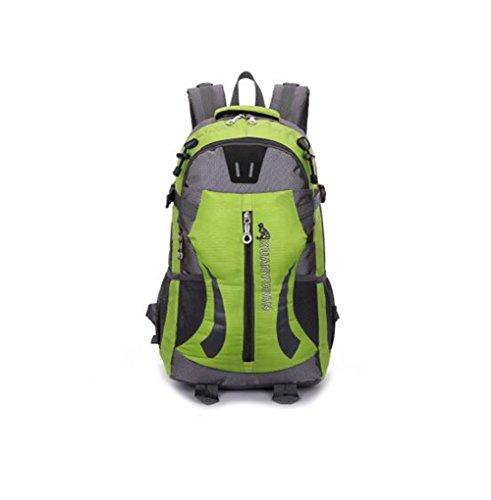 Wmshpeds Grande capacità 40L outdoor coppia pacchetto impermeabile zaino borsa di arrampicata borsa da viaggio E