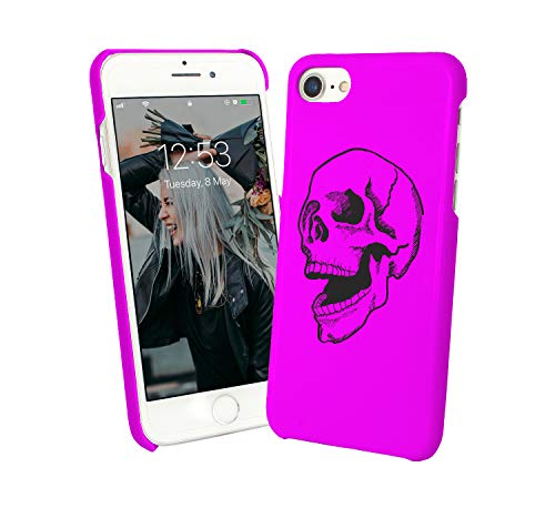 Skull Death Rock and Roll_001737 iPhone 6 7 8 X Galaxy Note 8 Huawei Schutzhülle aus Hartplastik Hard Plastic Case Handy Hülle Geschenk Weihnachten Christmas (Note-handy-fall Death)