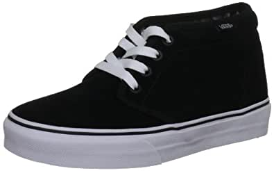 Vans, Baskets mode mixte adulte- Noir (Black/White), 35 EU