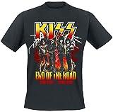 Photo de Kiss End of The Road Lightning T-Shirt Manches Courtes Noir par Kiss