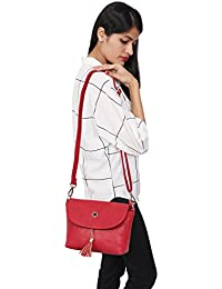 ELIMIER Synthetic Leather Sling Bag For Girls And Women
