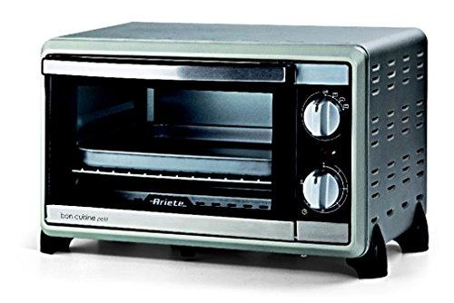 Ariete-Bon-Cuisine-Petit-Independiente-Elctrico-10L-1000W-Sin-especificar-Plata-Horno-Elctrico-Independiente-Plata-Giratorio-Frente-Metal