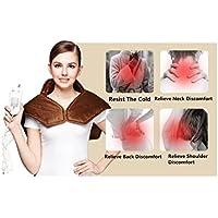 HHORD Elektrische Heizung Schulter Physiotherapie Heizkissen Vertebral Keep Warmer Schal, 3 Temperatur wählen,... preisvergleich bei billige-tabletten.eu