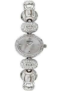 Accurist Ladies Swarovski Crystal White Delight Charmed Watch LB1448