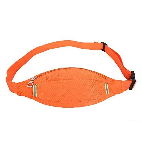 Lässig, Taschen, Sport, Gürtel, Taschen, Wandern, Gesäß, Handys, Taschen, Taschen Orange