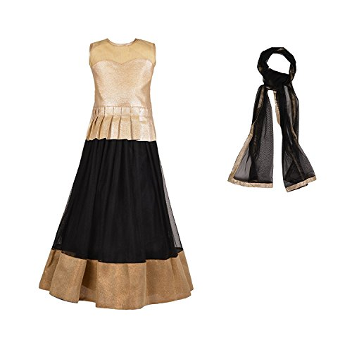 Sky Global Girls Net Traditional Party Wear Lehenga Choli (Sky_Kids_8068)  available at amazon for Rs.275