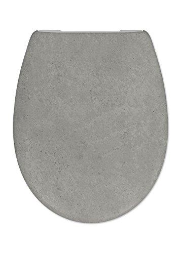 Cedo Design WC Sitz Sahara mit Absenkautomatik Softclose Classic, Abnehmbar mit Takeoff Original Abnahmefunktion; aus Duroplast für ovale Keramiken mit Befestigung von Unten
