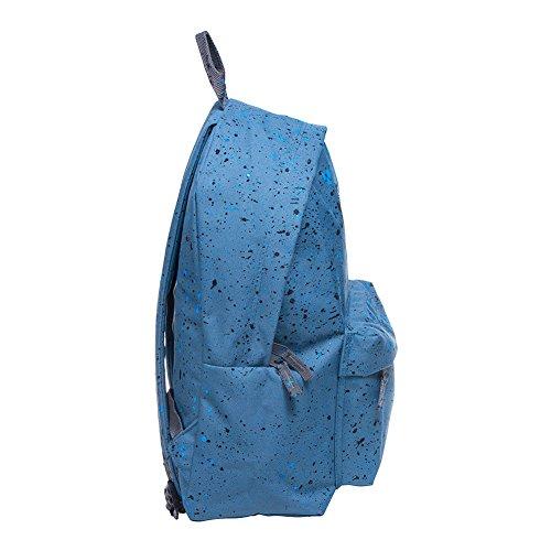 Just Hype  Hype bag kit (Splatter), Herren Schultertasche Einheitsgröße Airforce / Black / Navy
