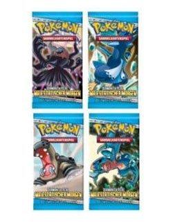 Preisvergleich Produktbild 25450 - Amigo Spiele - Pokémon Diamant & Perl - Majestätischer Morgen Booster (deutsch)