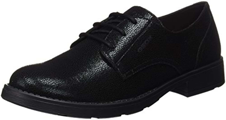 Geox Jr Sofia J, Zapatos de Cordones Derby Unisex Adulto -