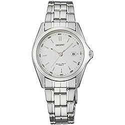 Orient FSZ3A001W0 Silver Steel Bracelet & Case Mineral Women's Watch