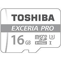 Toshiba THN-M401S0160E2 16 Go EXCERIA PRO M401 Carte MicroSD