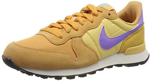 Nike Damen WMNS Internationalist Laufschuhe, Mehrfarbig (Copper Moon/Atomic Violet/Celestial Gold/Aurora Green/Phantom 801), 40 EU